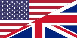 UK-US flag